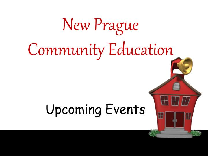 new prague community education n.