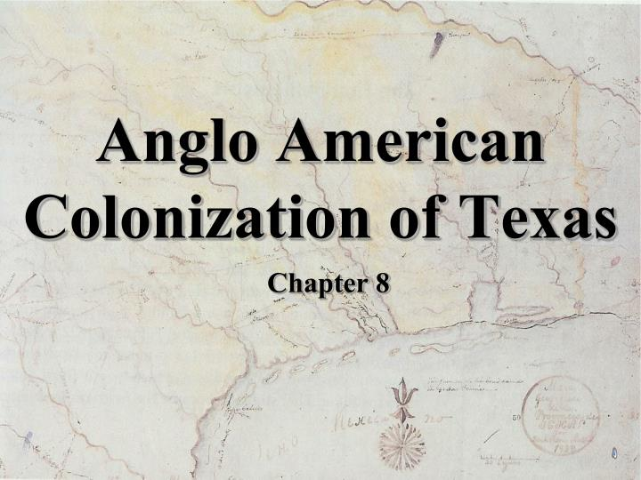 anglo american colonization of texas n.