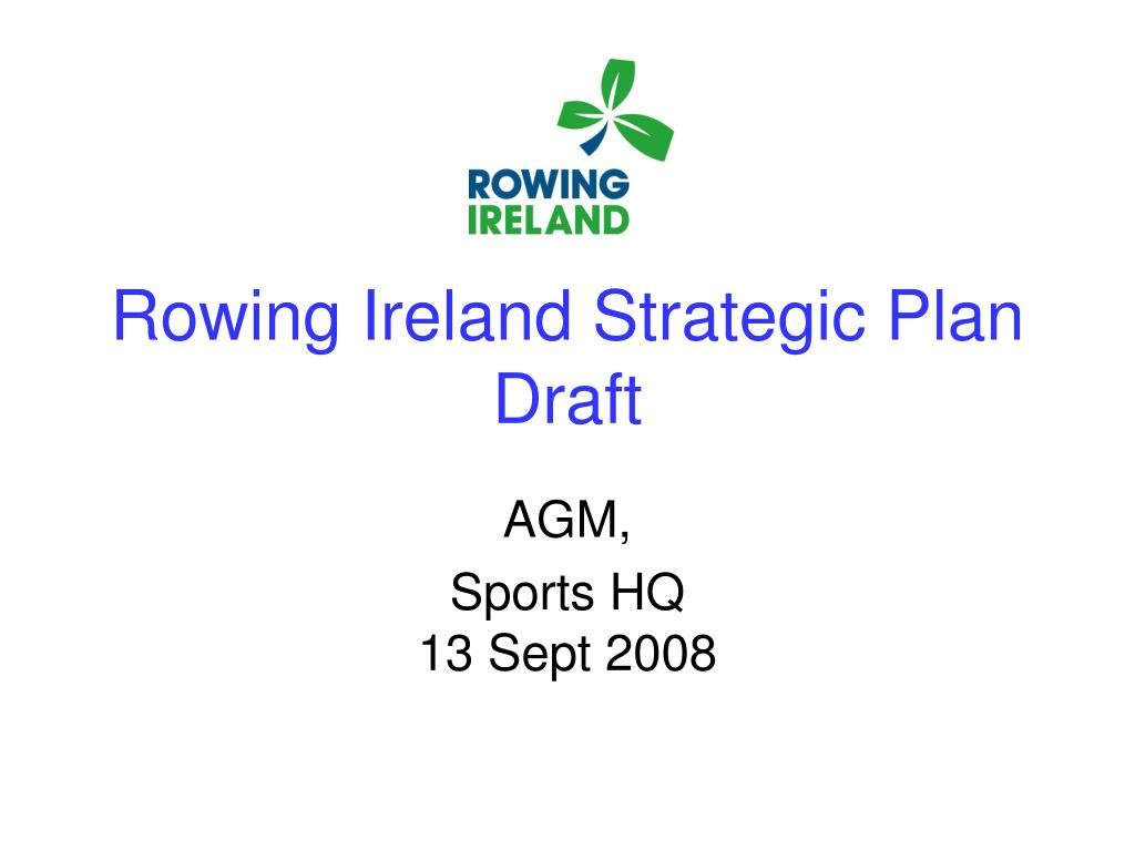 rowing ireland strategic plan draft l.