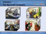 google the big s mall c ompany