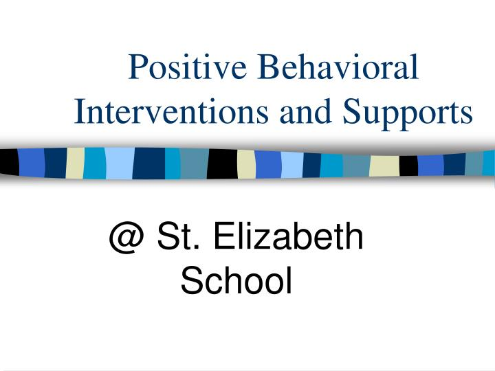 positive behavioral interventions and supports n.