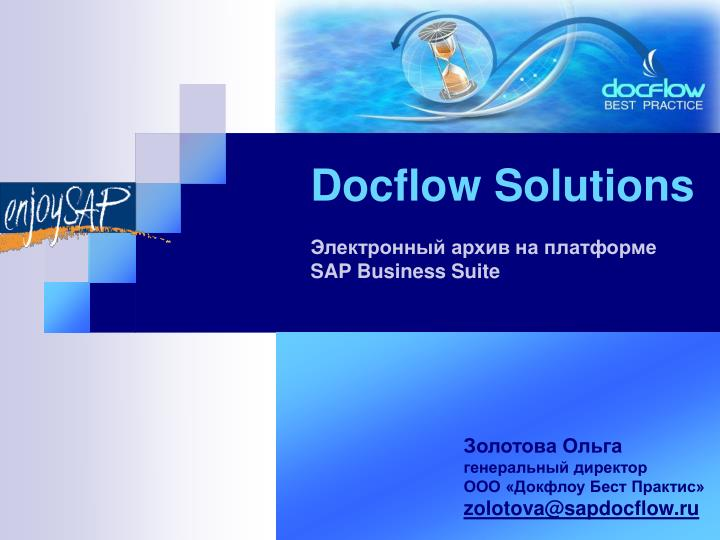 docflow solutions sap business suite n.