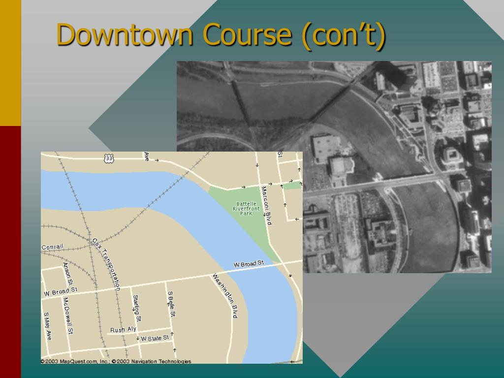 Downtown Course (con't)