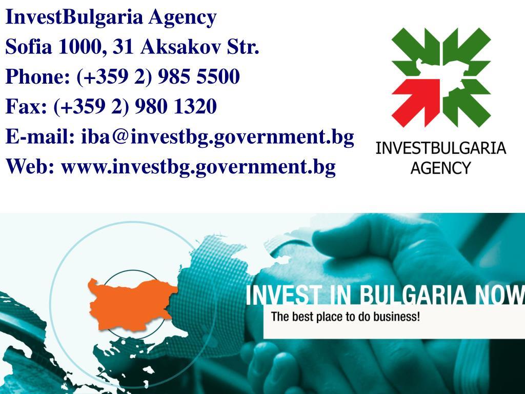 InvestBulgaria Agency