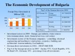 the economic development of bulgaria
