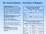 the tourist industry the future of bulgaria