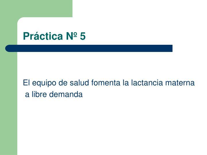 Práctica Nº 5