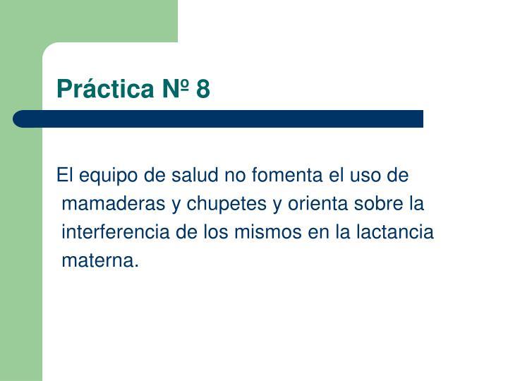 Práctica Nº 8
