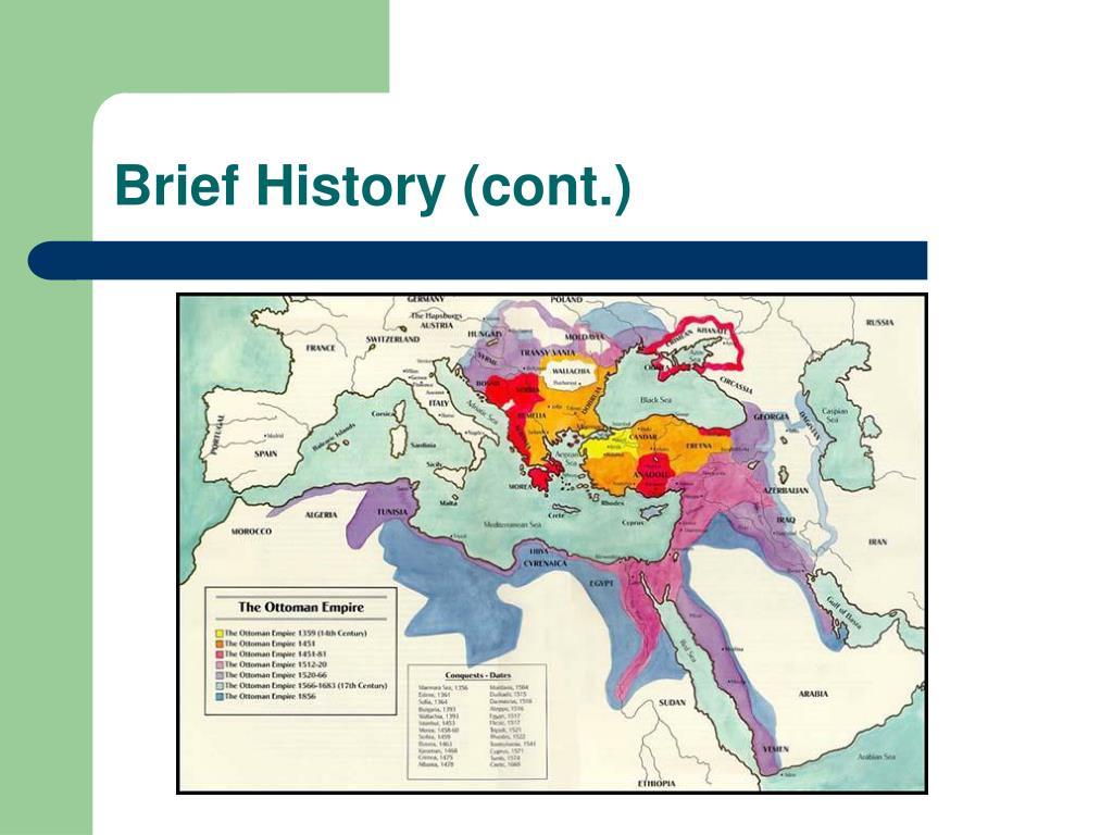 Brief History (cont.)