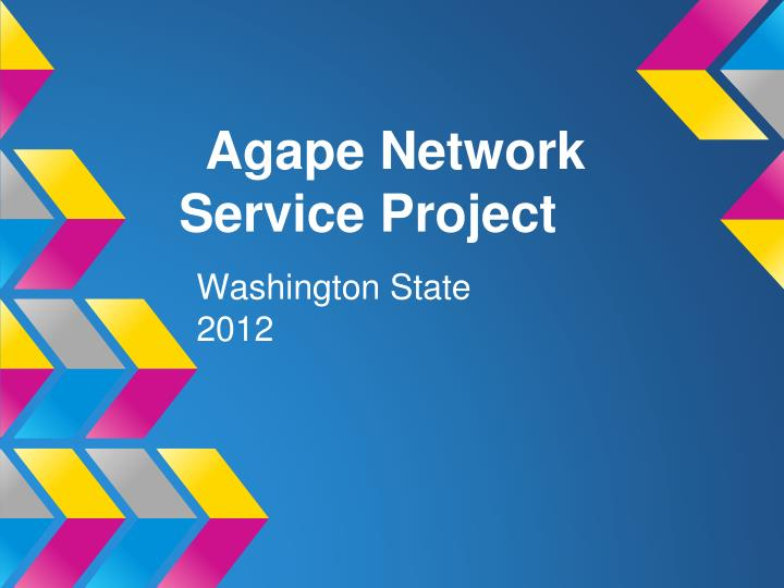 agape network service project n.