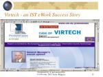 virtech an ist ework success story