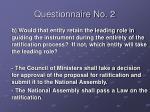 questionnaire no 210