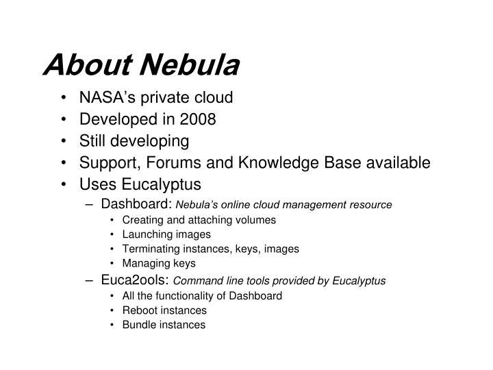 About Nebula