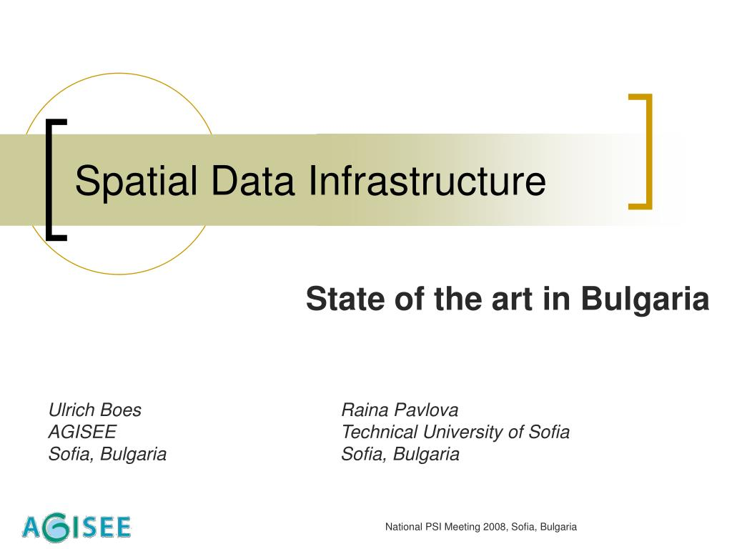 spatial data infrastructure l.