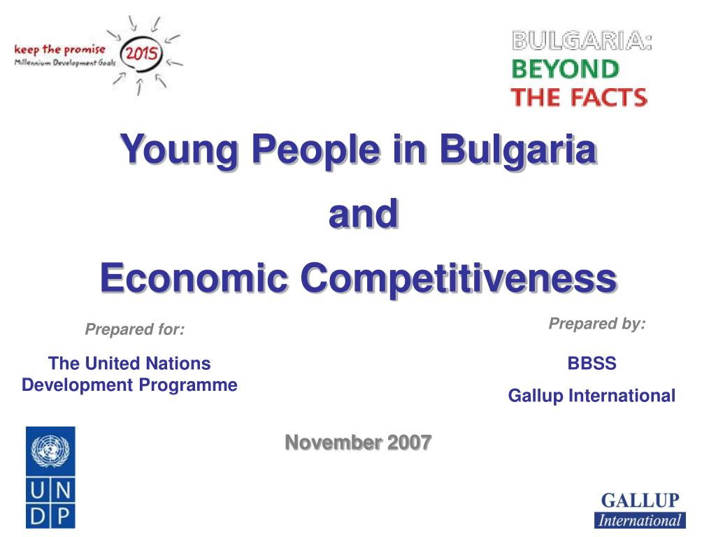 young people in bulgaria and economic competitiveness l.