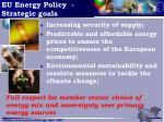 eu energy policy strategic goals