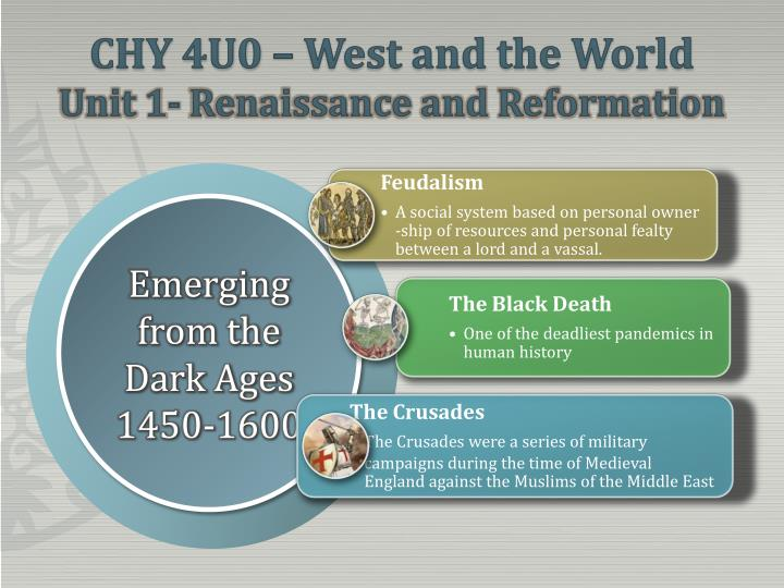 chy 4u0 west and the world unit 1 renaissance and reformation n.