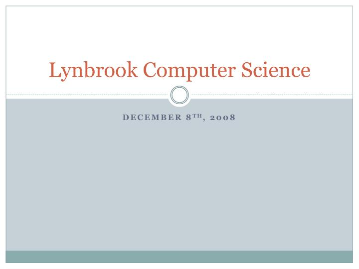 lynbrook computer science n.