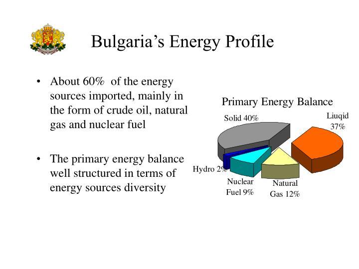 Bulgaria s energy profile