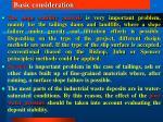 basic consideration4