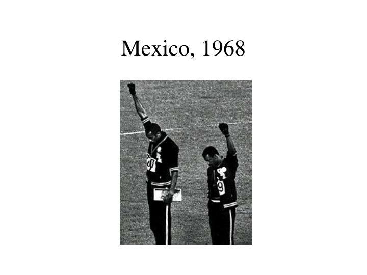 Mexico, 1968