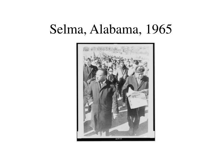 Selma, Alabama, 1965