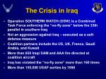 the crisis in iraq5