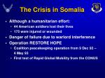 the crisis in somalia9
