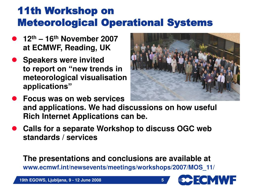 PPT - Metview 4 The next generation of meteorological workstation at