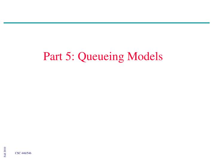 part 5 queueing models n.