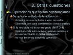 3 otras cuestiones3
