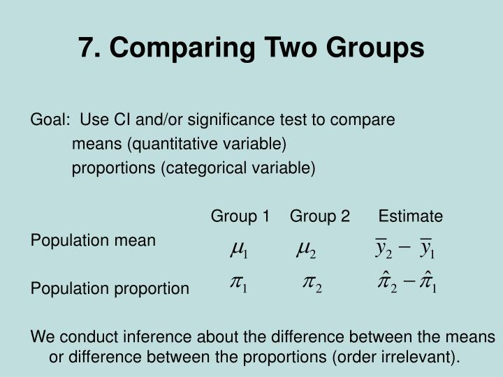 7 comparing two groups n.