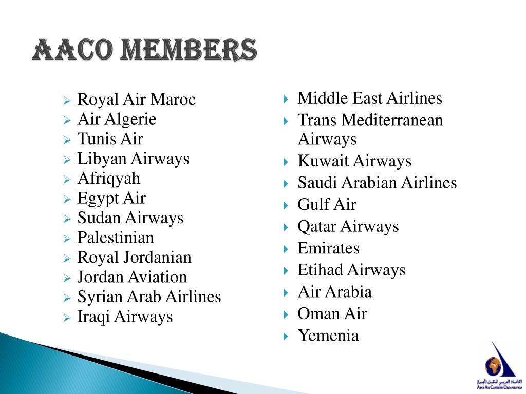 AACO members