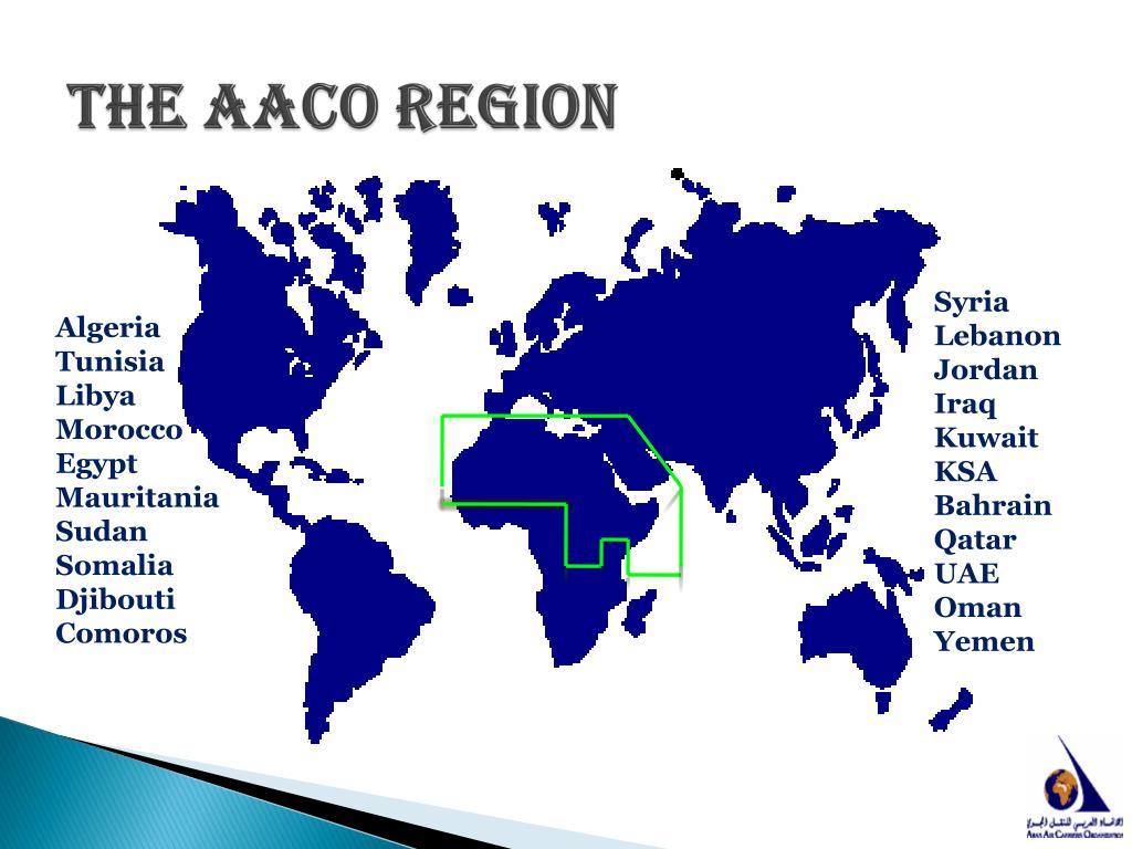The AACO Region
