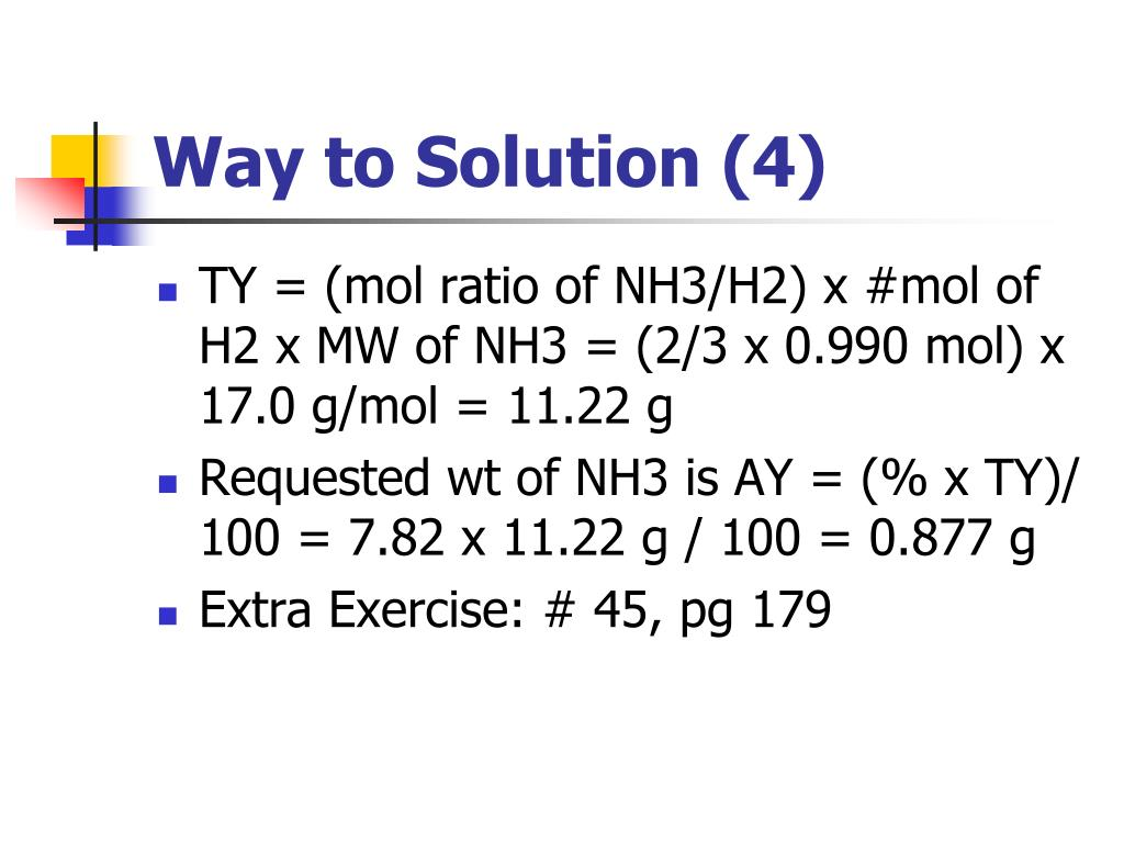 Way to Solution (4)