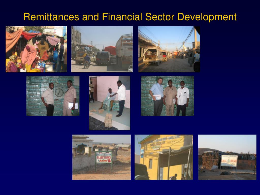 remittances and financial sector development l.