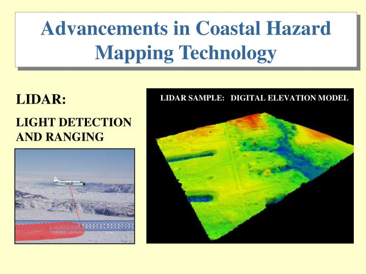 Advancements in Coastal Hazard Mapping Technology