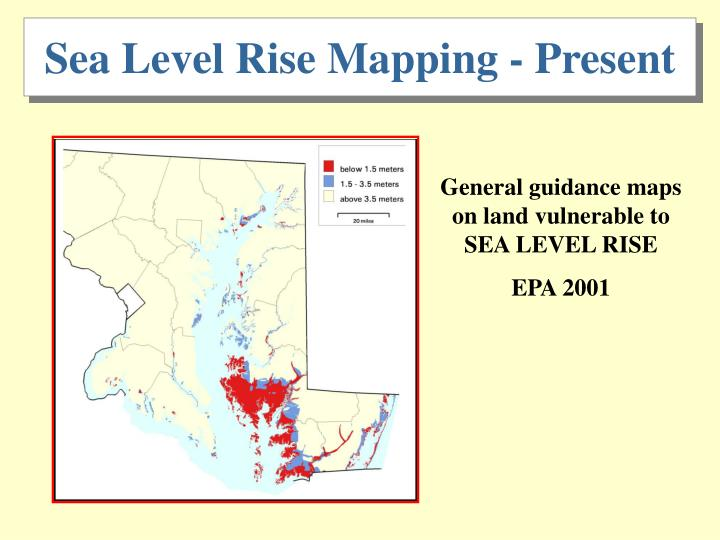 Sea Level Rise Mapping - Present