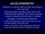 allelomimetic