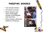 pakistan schools