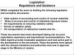 legislation regulations and guidance