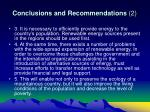 conclusions and recommendations 2