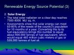 renewable energy source potential 3
