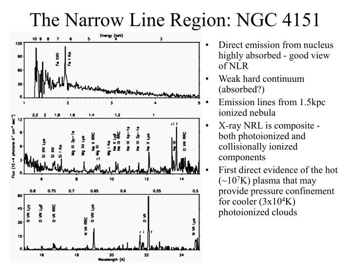 The Narrow Line Region: NGC 4151