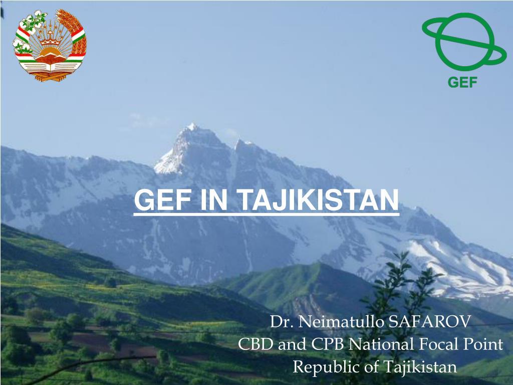 gef in tajikistan l.