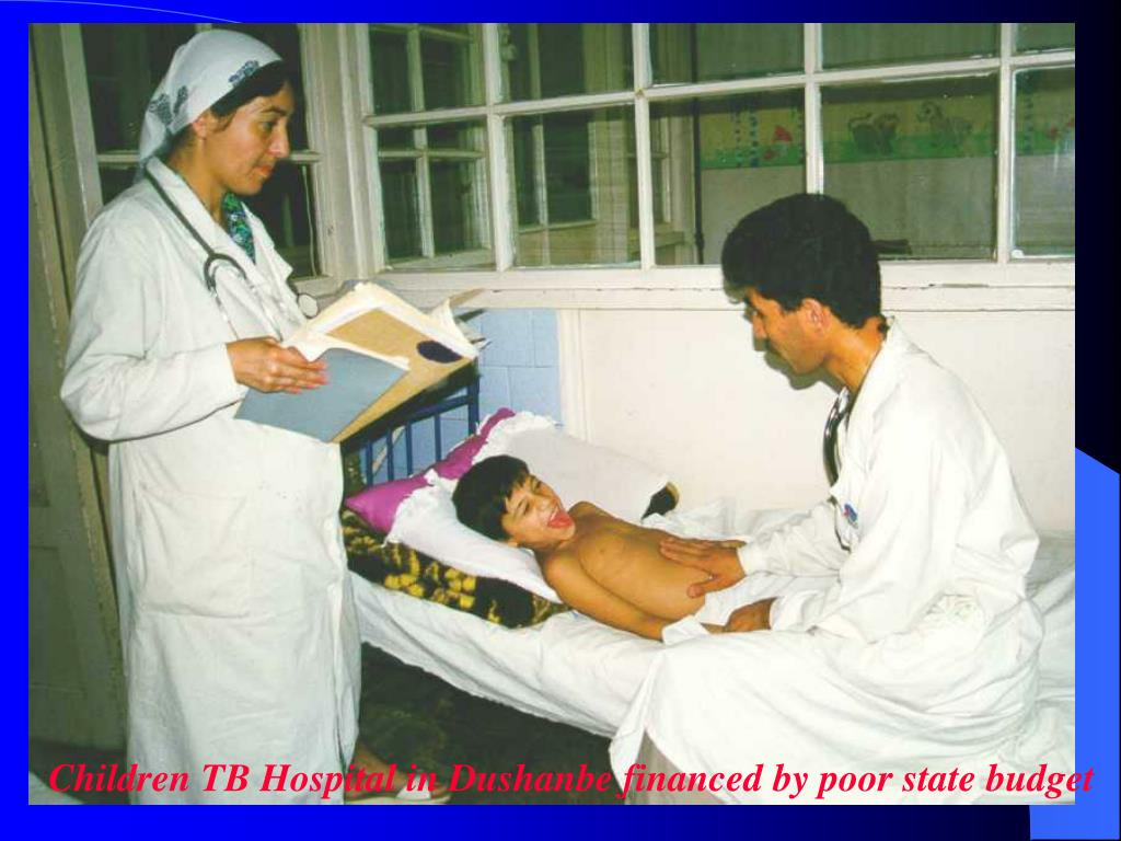Children TB Hospital in Dushanbe financed by poor state budget