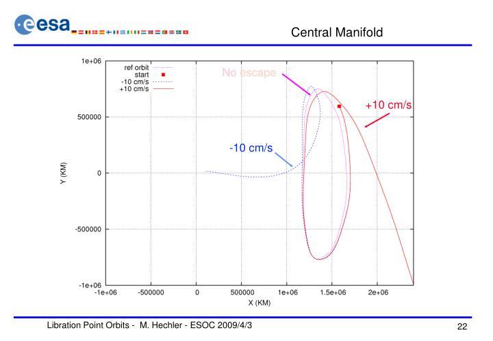 Central Manifold