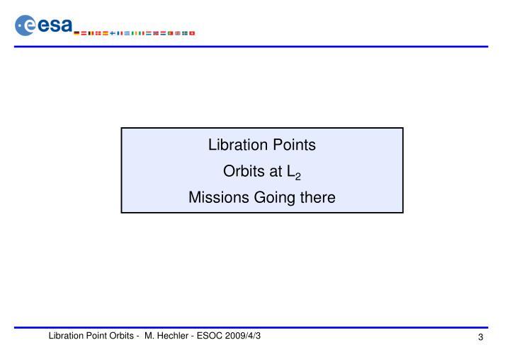 Libration Points