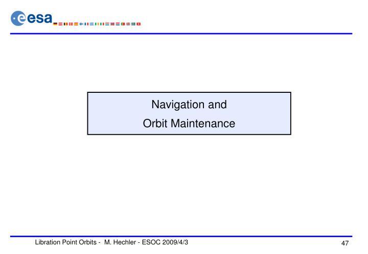 Navigation and