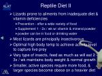 reptile diet ii
